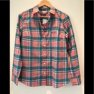 J.Crew The Perfect Shirt NWT